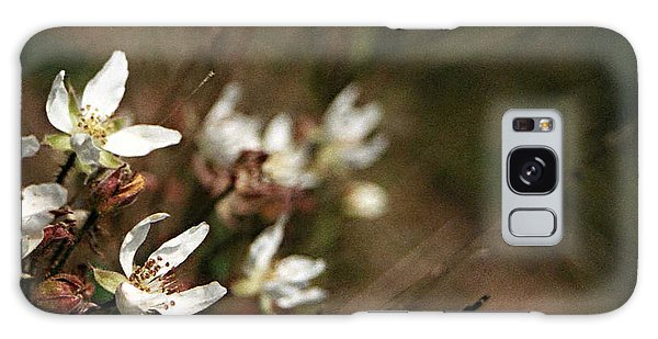 Wildflowers Galaxy Case by Marna Edwards Flavell