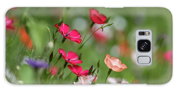 Wildflowers Meadow Galaxy Case