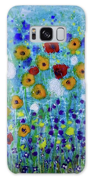 Wildflowers Never Die Galaxy Case