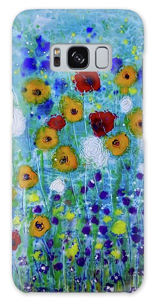 Wildflowers Never Fade Galaxy Case