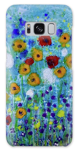 Wildflowers Never Fade Galaxy Case