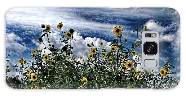 Wildflowers On The Brazos Galaxy Case