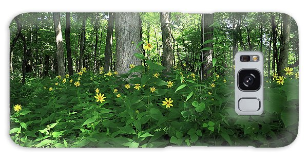Wildflowers On The Edge Of The Forest Galaxy Case by Scott Kingery