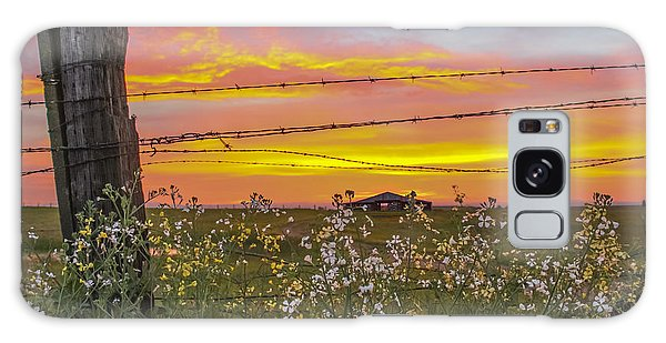 Wildflowers On The Ranch Galaxy Case