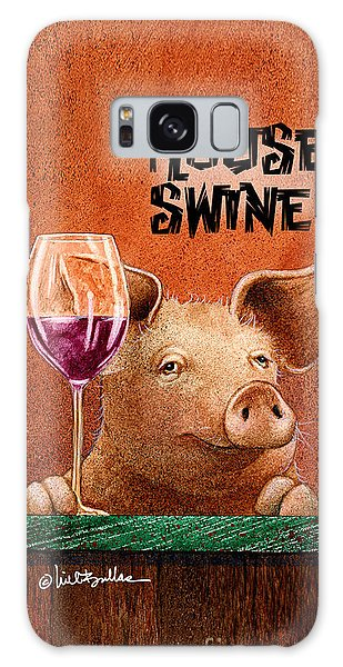 Will Bullas Phone Cover / House Swine Galaxy Case