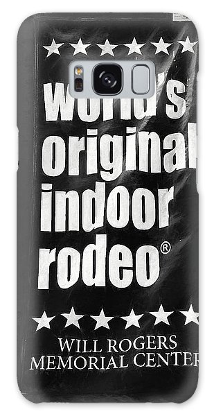 Will Rogers Rodeo Bw Galaxy Case