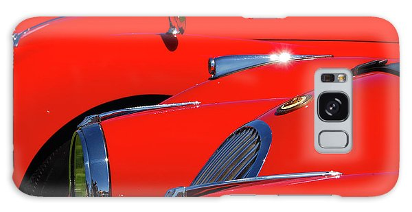 Galaxy Case featuring the photograph Will The Owner Of The Red Car by John Schneider