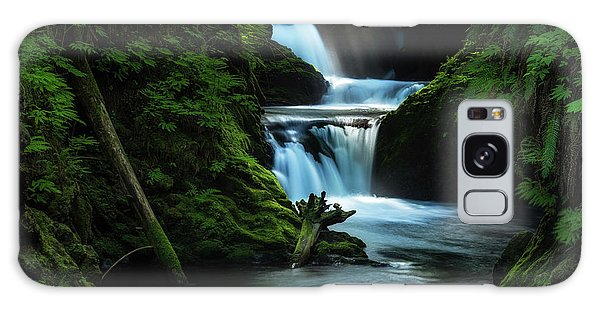 Galaxy Case featuring the photograph Lush Willaby  by Expressive Landscapes Fine Art Photography by Thom