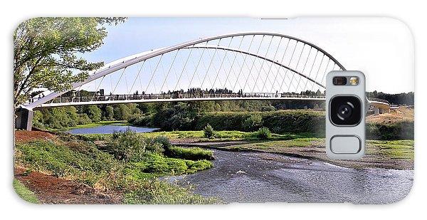 Willamette Pedestrian Bridge Galaxy Case