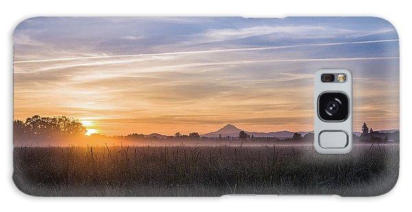 Willamette Valley Sunrise Galaxy Case