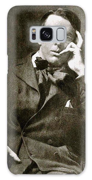 William Butler Yeats Galaxy Case by Pg Reproductions