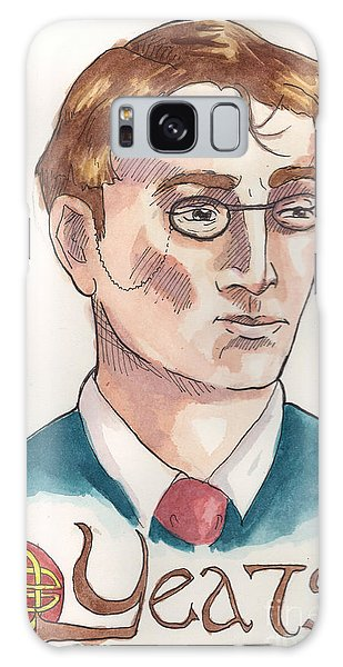 William Butler Yeats Galaxy Case