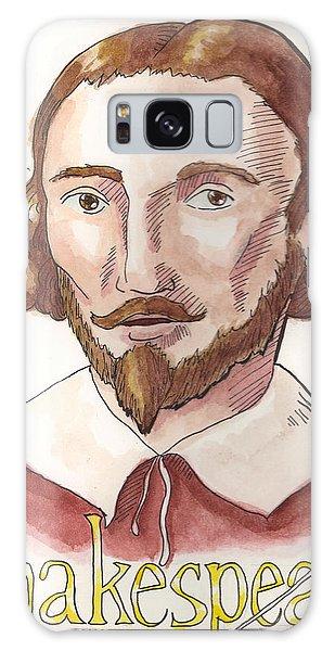 William Shakespeare Galaxy Case