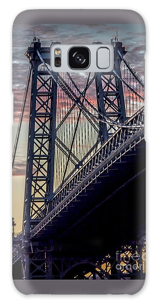 Williamsburg Bridge Structure Galaxy Case
