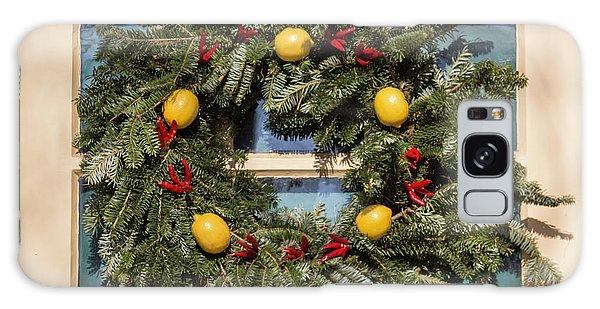 Royal Colony Galaxy Case - Williamsburg Wreath 37 by Teresa Mucha