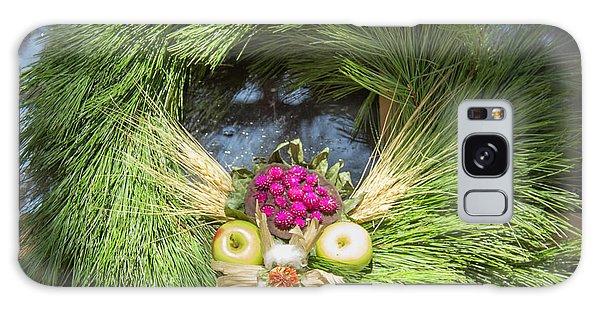 Royal Colony Galaxy Case - Williamsburg Wreath 49 by Teresa Mucha