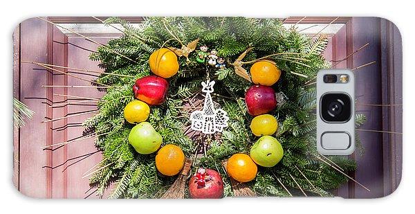 Royal Colony Galaxy Case - Williamsburg Wreath 53 by Teresa Mucha