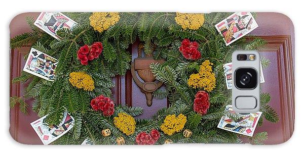 Royal Colony Galaxy Case - Williamsburg Wreath 56 by Teresa Mucha