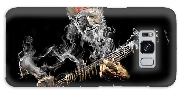 Willie Smoken' Galaxy Case