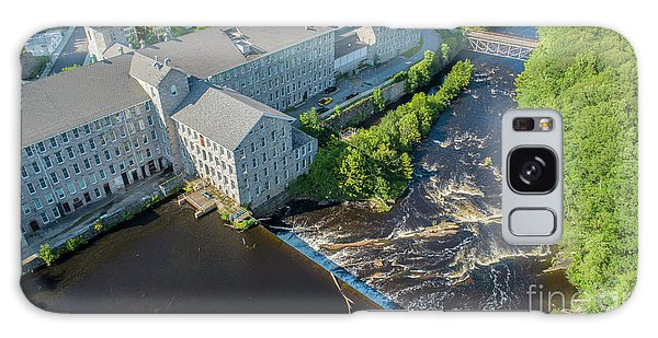 Willimantic River And Mill #2 Galaxy Case