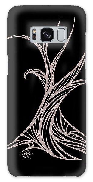Willow Curve Galaxy Case by Jamie Lynn