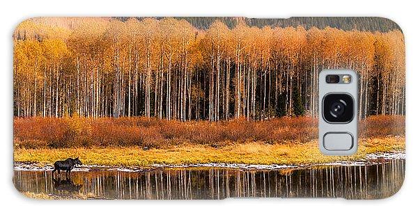 Willow Lake Moose Galaxy Case