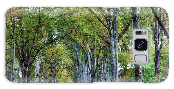 Willow Oak Trees Galaxy Case
