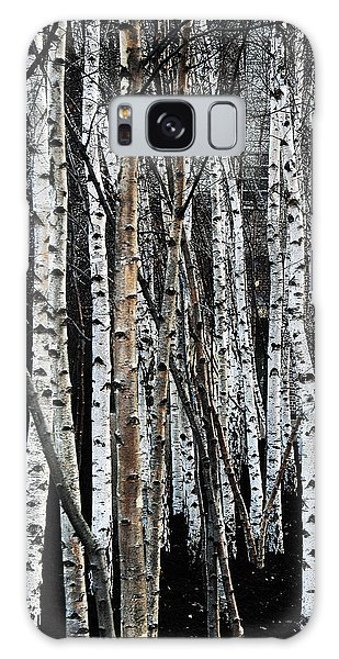 Galaxy Case featuring the digital art Birch by Julian Perry