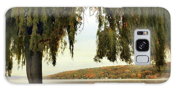 Galaxy Case featuring the photograph Willows Of Stewart Park by Jessica Jenney