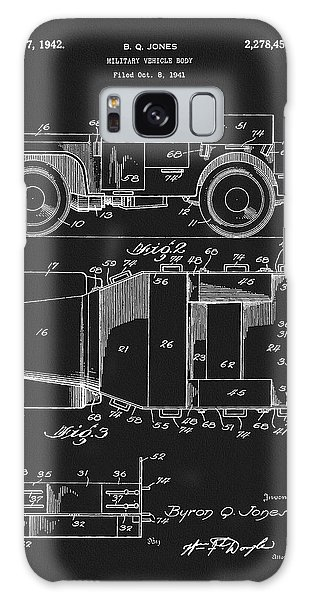 Old Truck Galaxy Case - Willy's Military Jeep Patent by Dan Sproul