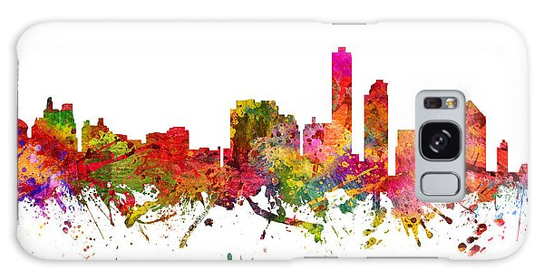 Colours Galaxy Case - Wilmington Cityscape 08 by Aged Pixel