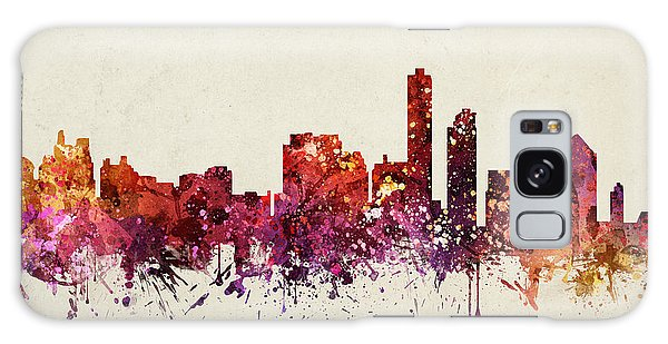 Colours Galaxy Case - Wilmington Cityscape 09 by Aged Pixel