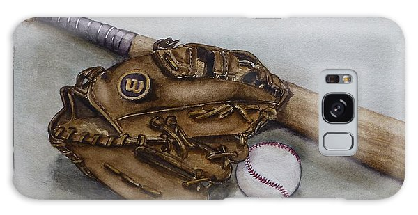 Wilson Baseball Glove And Bat Galaxy Case
