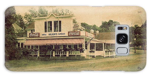 Wilson's Restaurant And Ice Cream Parlor Galaxy Case