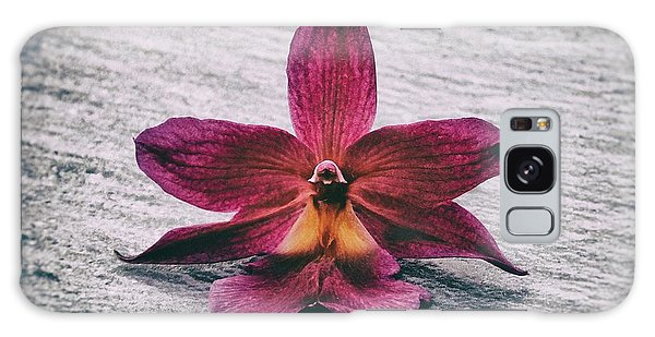 Wilting Orchid  Galaxy Case