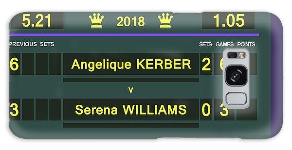 Wimbledon Scoreboard - Customizable - 2017 Muguruza Galaxy Case