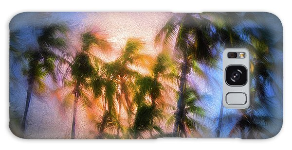 Wind And Palms Galaxy Case