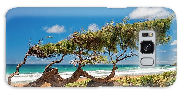 Wind Blown Tree Galaxy Case