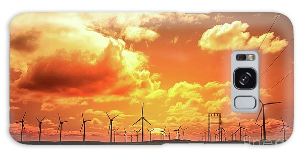 Wind Power Galaxy Case - Wind Farm by Delphimages Photo Creations