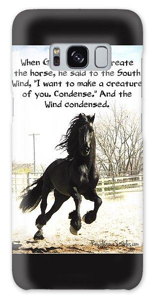 Wind In Your Mist Galaxy Case