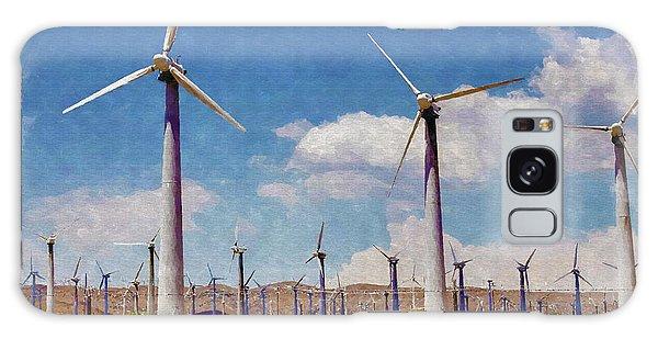 Wind Power Galaxy Case - Wind Power by Ricky Barnard
