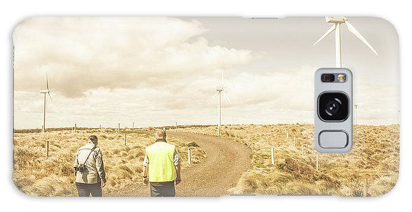 Environments Galaxy Case - Wind Power Travel Tour by Jorgo Photography - Wall Art Gallery