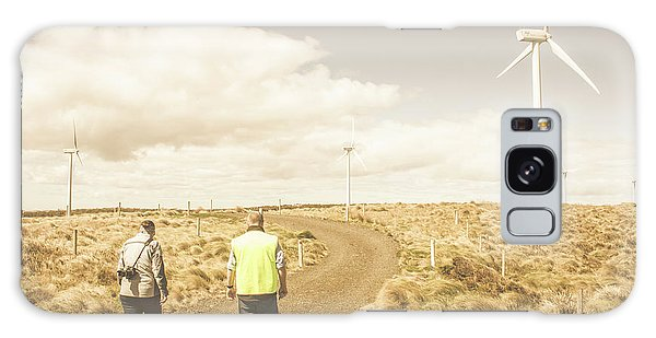 Wind Power Galaxy Case - Wind Power Travel Tour by Jorgo Photography - Wall Art Gallery