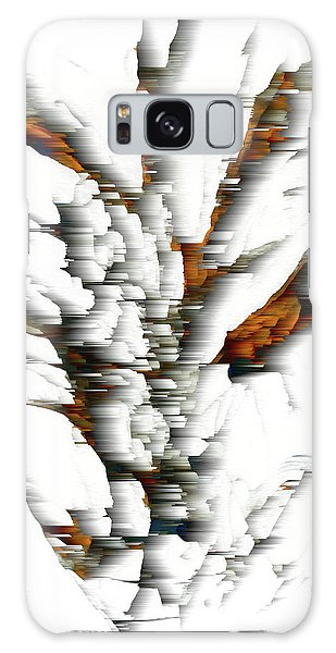 Galaxy Case featuring the painting Wind Series 05.072311windblastscvss by Kris Haas