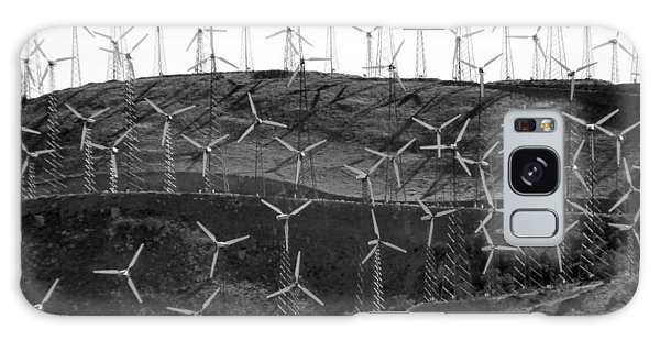 Wind Turbine Farm Galaxy Case
