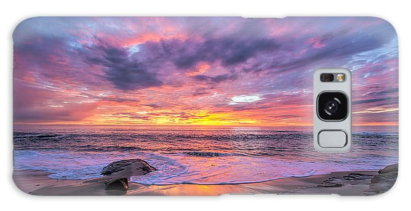 Windansea Beach Sunset Galaxy Case