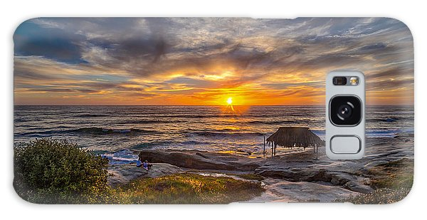 Featured Images Galaxy Case - Windansea by Peter Tellone