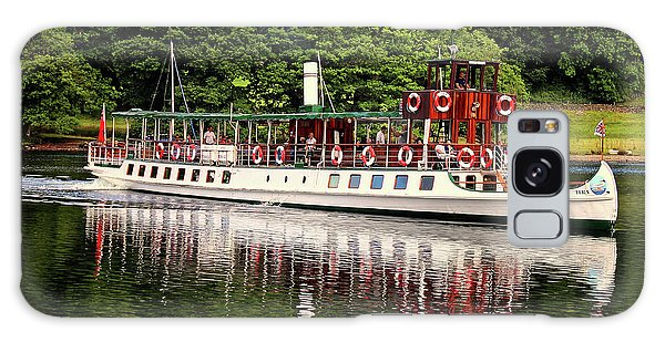 Lake Geneva Galaxy Case - Windermere Steamer by Martin Newman