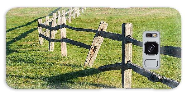 Winding Fences Galaxy Case