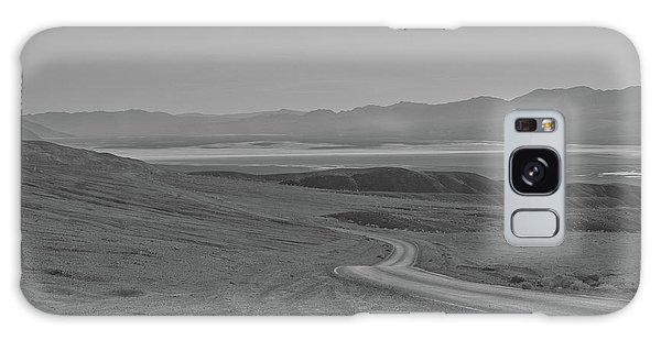 Galaxy Case featuring the photograph Winding Road, Death Valley, California by Frank DiMarco